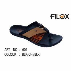 Mens PU Flip Flop Casual Slipper, Size: 6 to 10