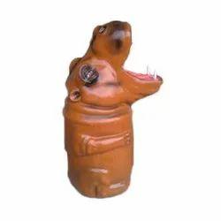 Hippopotamus Dustbin