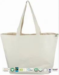 Reusable Canvas Beach Bag