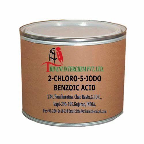 Light Yellow Powder 2-Chloro-5-Iodobenzoic Acid For Api For Bulk Drugs, Packaging Type: Fiber Drum
