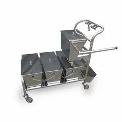SS Mopping Trolley