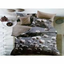 Grey Double Bed Sheets