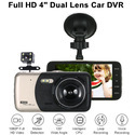Full HD 4 Dual Lens Car DVR