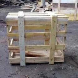 Square Frame Crates Wooden Packing Crate, Capacity: 50-80 Kg