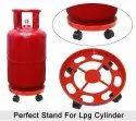 Plastic Gas Cylinder Trolley with Wheels - Gas