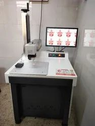 Gold Tool Fiber Laser Marking Machine , Jewellery Laser Marking Machine