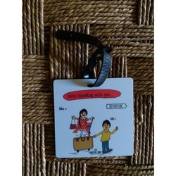 Customized Printed Bag Tag