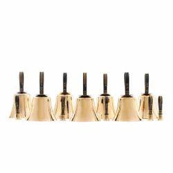 Brass Hand Bell Set