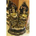 Lord Radha Krishna Brass Statue