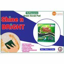 Green Scrub Pad(Shine N Bright)