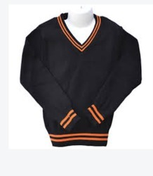 Black School Sweater
