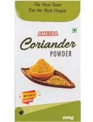 Ameyaa Spicy Coriander Powder, Packaging Type: Packet, Packaging Size: 200g