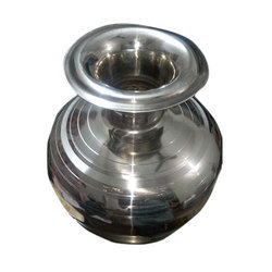 Silver Stainless Steel Kalsi, Material Grade: SS304, Capacity (In Litres.): 5 To 15 Litres