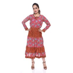 JaipurOnlineShop Party Wear Long Dress