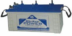 White Sukam Power Grand FT 1350 Tubular Battery, Capacity: 100-150 Ah