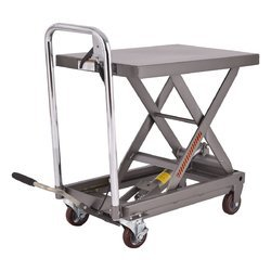 Hydraulic Scissors Lift Table With Wheeles