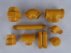 Power Coated Pipe Fittings for Gas Applications