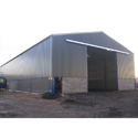 Hot Dip Galvanized Or Painted Ms Prefabricated Shed