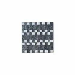 D.R. Stone Black 15 mm Square Wall Tiles, Size: 300*300cm