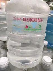Diamond Dew 20 Liter Water Jar