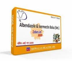 Albendazole & Ivermectin Bolus Veterinary Medicines