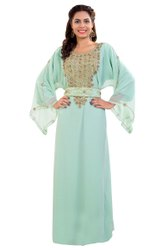 Dubai Farasha Jalabiya Maxi Dress