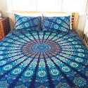 Rh As Shown In Picture Twin Size Mandala Bedding Set Tapestry With Two Pillow Covers