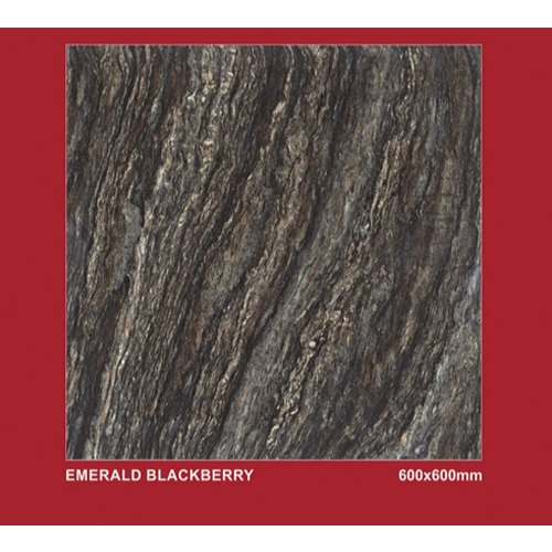 Emerald Blackberry Double Charge Vitrified Tiles