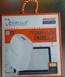 1 Mm Electric Mobilia Mobile Chargers, Model Number: Mb2autc02