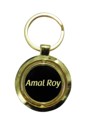 FLKG-019 Fibre Laser Engraved Metal Key Ring