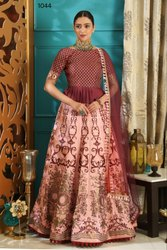 New Heavy Designer Semi-Stitched Bridal Lehenga