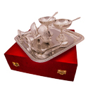 EPNS Silver Plated Ice Cream Bowl Set