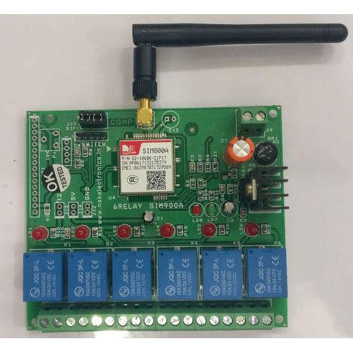 Gsm Based 6 Relay Control Board