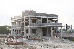 Residential White Hostel Buildings Construction Service, in JAIPUR