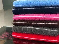 Msj clothings Plain Microfiber Bath towels surplus, For Home, Polypack