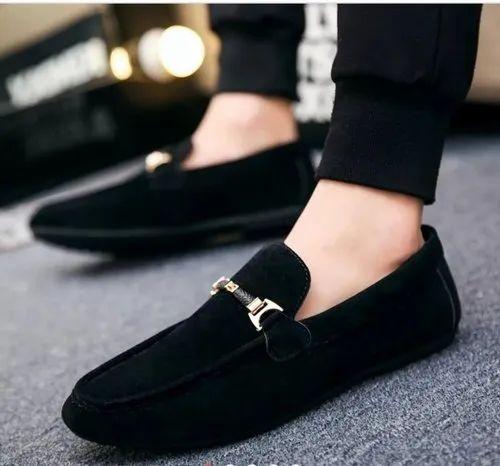 838c411e Versace Velvet Loafers Shoes For Men's
