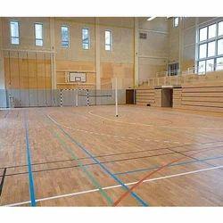 Multipurpose Wooden Court