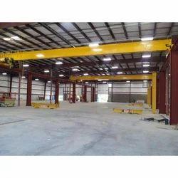 Industrial Crane Steel Shed