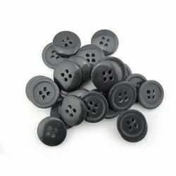 Polyester Round Coat Button, Packaging Type: Packet