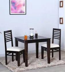 Aditya Furniture Teak Wood Wooden Street Dining Table Set