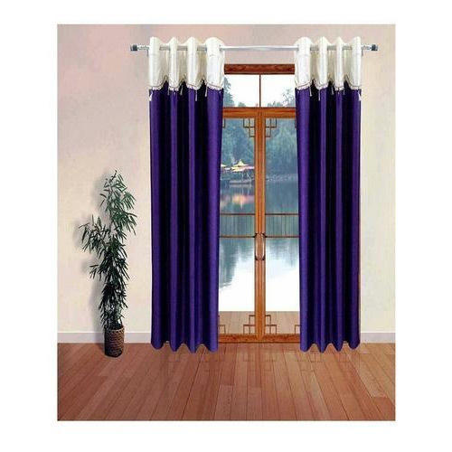 Plain Fancy Polyester Door Curtain Size 7 Feet X 4 Feet Rs 750