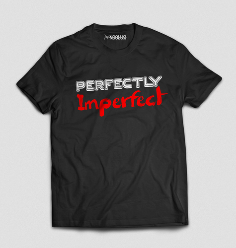9bfa1a13 Black And Red Noolusi Graphic Perfectly Imperfect T-Shirts, Rs 400 ...