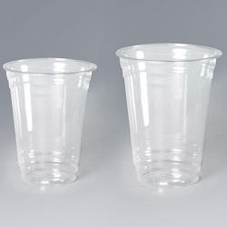 Disposable PET Glass