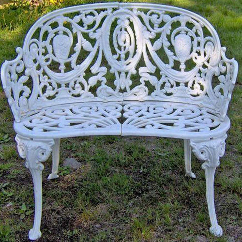 Etonnant Cast Iron Garden Bench