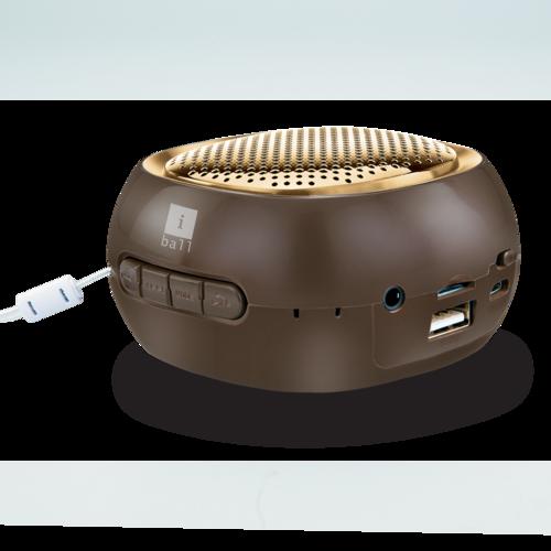Iball Bluetooth Portable Speaker: IBall Musi Cube BT20 Portable Bluetooth Speaker With FM Wholesale Distributor