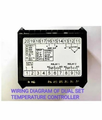 Wiring Diagram Of Dual Set Temperature Controller For ... on