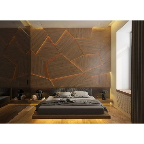 Wooden Glo Decor Wood Wall Panel Rs