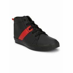 Tuskey Boys Black Red Shoes