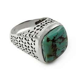 Intrigant Turquoise 925 Sterling Silver Ring
