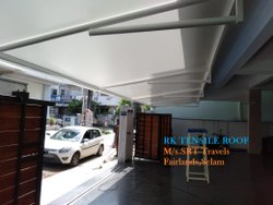 Membrane Tensile Roof Hyper Model Structures